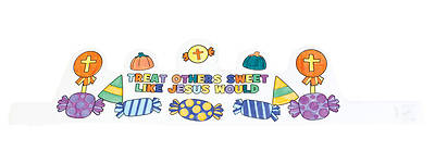Picture of Vacation Bible School VBS 2021 Crowned with Kindness Craft Kit (12 Pk)