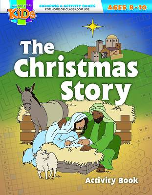Picture of The Christmas Story Coloring Activity Book (Package of 6)