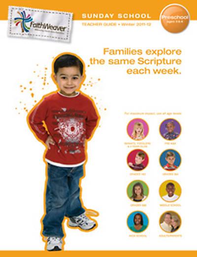 Picture of FaithWeaver Preschool Additional Teacher Guide