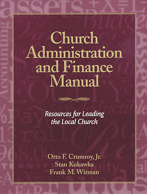 Picture of Church Administration and Finance Manual