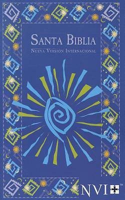 Picture of NVI Spanish Bible - Blue Fiesta