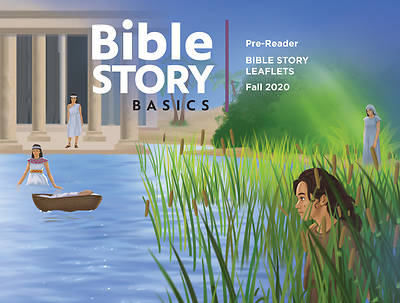 Picture of Bible Story Basics Pre-Reader Leaflets Fall 2020