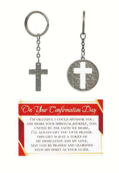 Picture of On Your Confirmation Day Keyring Card Set