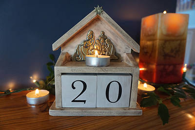 Picture of Perpetual Advent Block Calendar