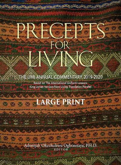 Picture of Precepts for Living Large Print 2019-2020
