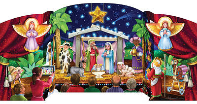 Picture of Greatest Story Free Standing Advent Calendar