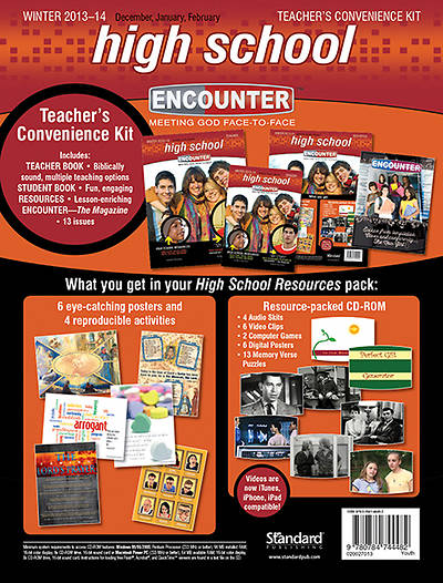 Standard Encounter High School Teachers Kit Winter 2013-2014