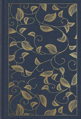 Picture of ESV Student Study Bible (Cloth Over Board, Navy, Vine Design)
