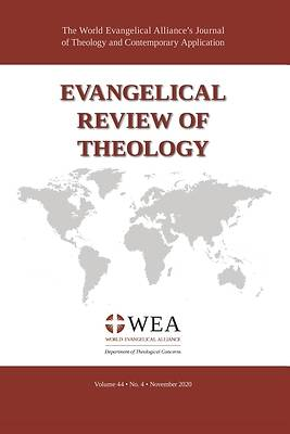 Picture of Evangelical Review of Theology, Volume 44, Number 4, November 2020