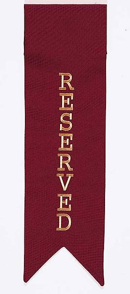Reserved Panel Vertical Embroidered