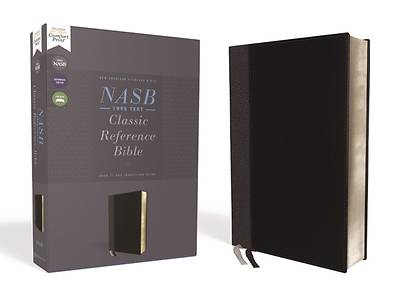 Picture of Nasb, Classic Reference Bible, Leathersoft, Black, Red Letter, 1995 Text, Comfort Print