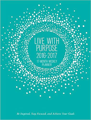 Picture of Live With Purpose Weekly Planner (17-Month Calendar)