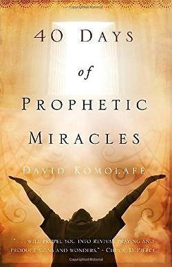 Picture of 40 Days of Prophetic Miracles