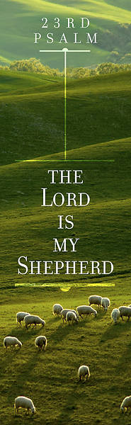 The Lord is My Shepherd Bookmark - Psalm 23 (KJV) -  (Pkg 25)