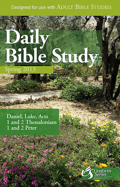 Daily Bible Study Spring 2013 - eBook [ePub]