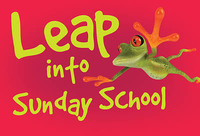 Leap Into Sunday School Frog Postcard (Pkg of 25)