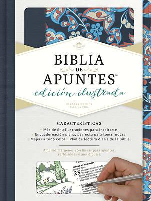 Picture of Rvr 1960 Biblia de Apuntes, Edicion Ilustrada, Tela En Rosado y Azul