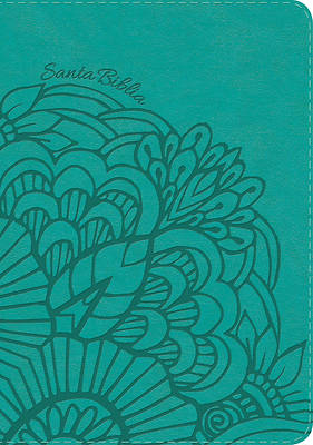 Picture of Rvr 1960 Biblia Letra Gigante Aqua, Simil Piel Con Indice