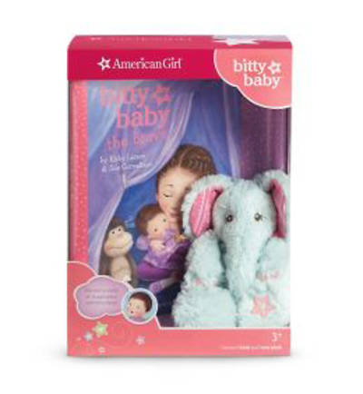 Bitty Babys Mini Elephant & Book [With Bitty Baby the Brave]