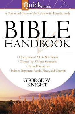 Picture of Quicknotes Bible Handbook [ePub Ebook]