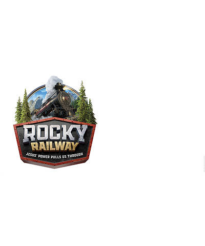 Picture of Vacation Bible School (VBS) 2020 Rocky Railway Outdoor Banner - Logo