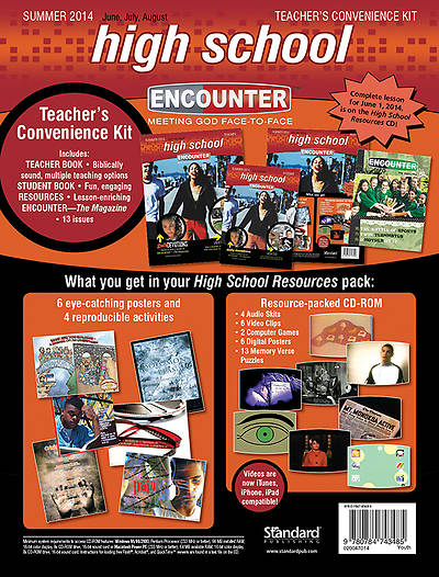 Standard Encounter High School Teachers Kit Summer 2014