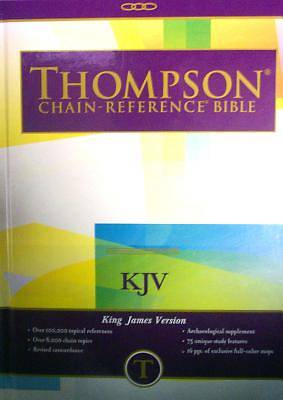 Thompson Chain Reference Study Bible KJV Large Print