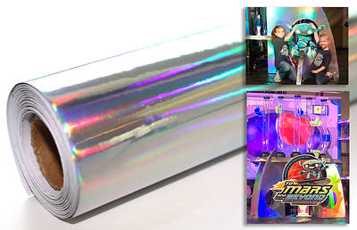 Vacation Bible School (VBS) To Mars and Beyond Holographic Paper