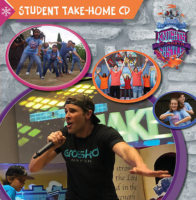 Picture of Vacation Bible School (VBS) 2020 Knights of North Castle Student Take-Home CD (Pkg of 6)