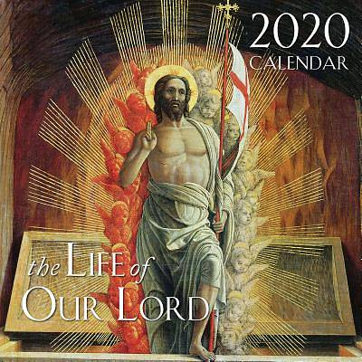 Picture of 2020 Life of Our Lord Catholic Wall Calendar