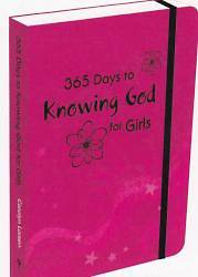 Picture of 365 Days to Knowing God-Girls