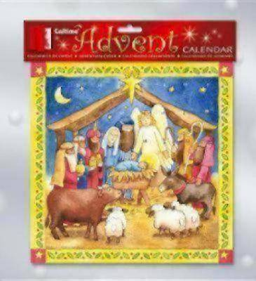 Nativity Advent Calendar with Angel