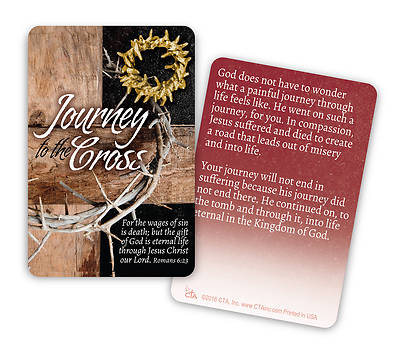 Journey to the Cross - Lapel Pin
