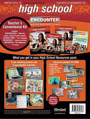 Encounter High School Teachers Convenience Kit Winter 2012-13
