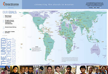 The United Methodist Mission Downloadable Map