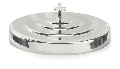 Communion Tray Cover - Polished Aluminum