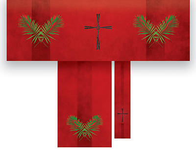 Picture of Passion Cross Economy 3-Piece Altar Set