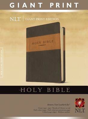 New Living Translation Holy Bible, Giant Print