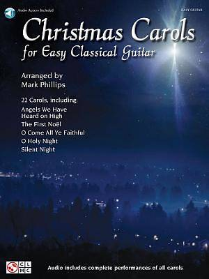 Christmas Carols for Easy Classical Guitar With CD (Audio)