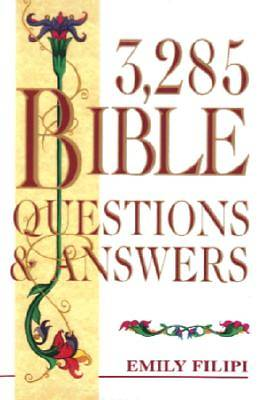 Picture of 3,285 Bible Questions & Answers