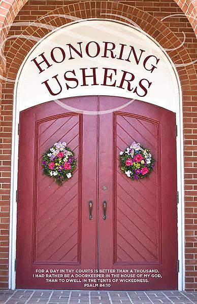 Honoring Ushers Bulletin Cokesbury