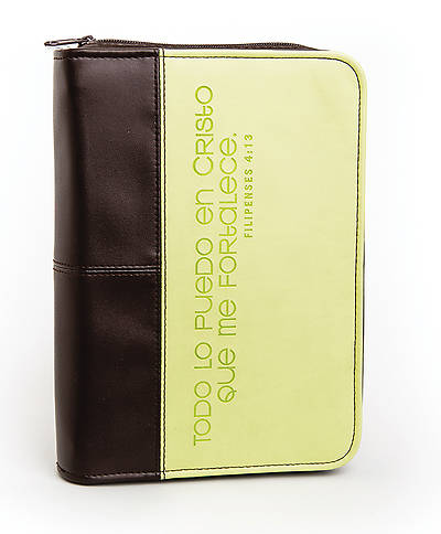 Bible Cover Philippians 4:13 Large, Spanish