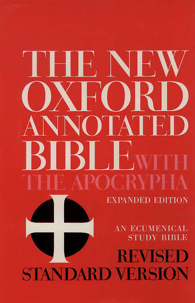 Picture of The New Oxford Annotated Bible with Apocrypha Revised Standard Version