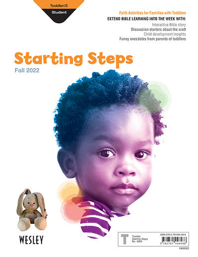 Wesley Toddler/2 Starting Steps Fall