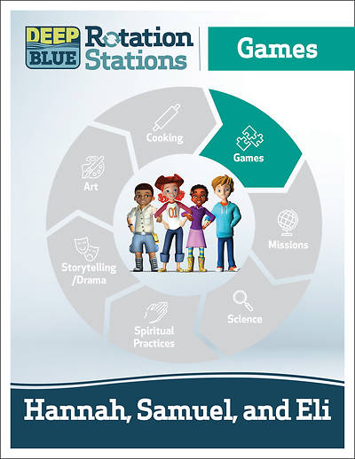 Picture of Deep Blue Rotation Stations: Hannah, Samuel and Eli - Games Station Download