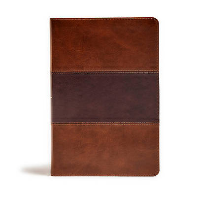 Picture of KJV Giant Print Reference Bible, Saddle Brown Leathertouch, Indexed