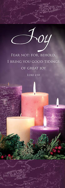 Picture of Advent Week 3 2' x 6' Fabric Banner Luke 2:10