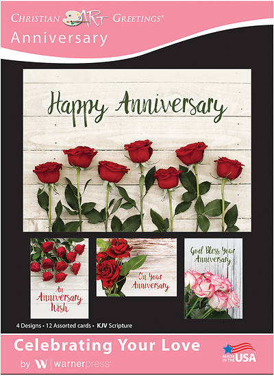 Celebrating Your Love Anniversary Boxed Cards