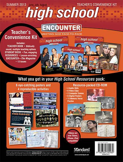Encounter High School Teachers Convenience Kit Summer 2013