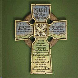 Picture of Irish Bedtime Blessing Cross